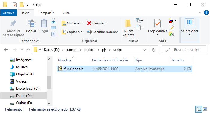 Uso de addEventListener para mostrar alerta si se hace clic en el primer objeto p del HTML