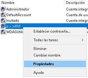 Crear usuario administrador y deshabilitar el usuario administrador por defecto