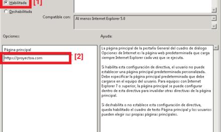 Crear directiva de grupo en dominio Active Directory y aplicar a una Unidad Organizativa