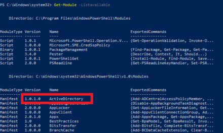 Listar usuarios de un grupo de seguridad en Windows Server 2008 2012 2019 con PowerShell