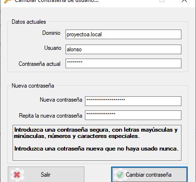 Cambiar contraseña usuario LDAP Active Directory Código Fuente C Sharp