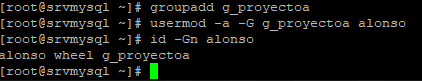 Grupos de seguridad en Linux