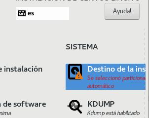 Instalar Linux CentOS 8 (válido para Red Hat y Fedora) con las opciones mínimas y cifrado