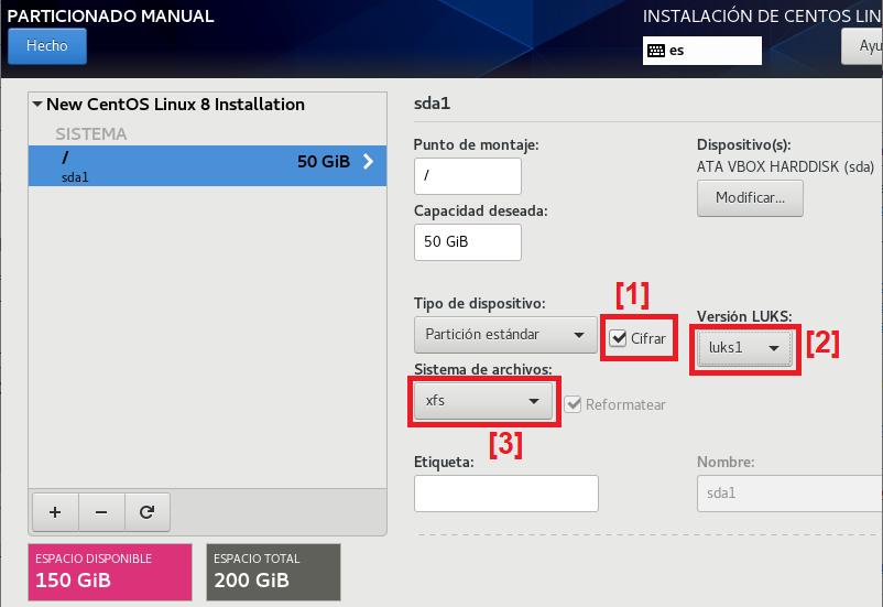 Montar servidor Linux bastionado | Parte 1 | Instalación Linux CentOS 8