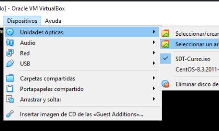 Conectar ISO como unidad de CD DVD en Linux con Virtual Box