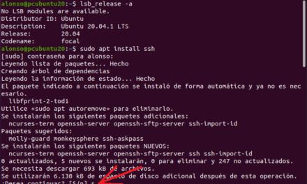 Habilitar acceso por SSH en Linux Ubuntu 20