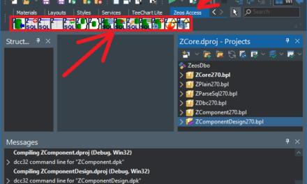 Instalar componentes ZeosLib 7.2.10 en Delphi 10.3
