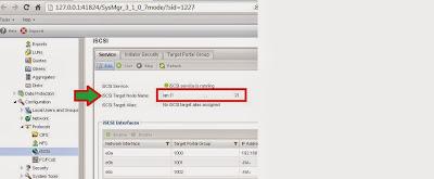 Obtener información necesaria en SAN NetApp, WWN y dirección IP para iSCSI