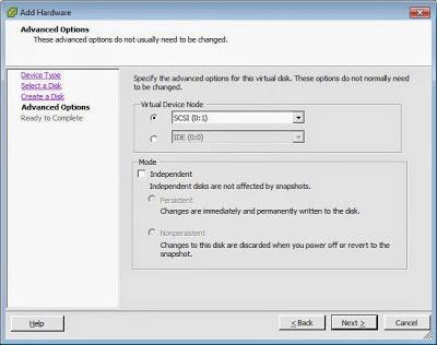 Configuración máquina virtual FreeNAS en VMware ESXi