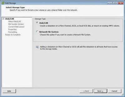 Presentación de disco duro de SAN FreeNAS a servidor VMware ESXi mediante iSCSI