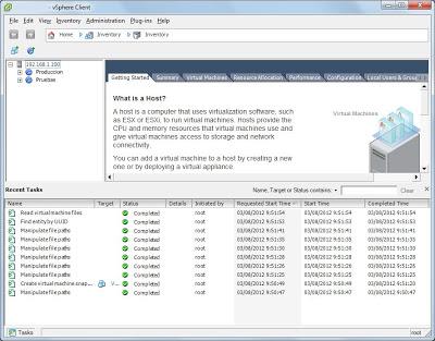 Realizar copia de seguridad de máquina virtual VMware online (en caliente) con Veeam Backup & Replication