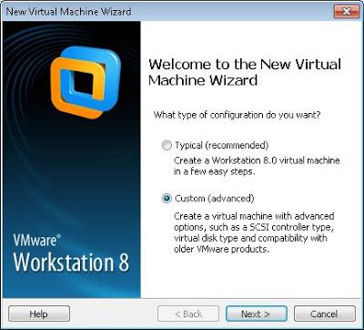 Crear máquina virtual Windows 8 en VMware Workstation