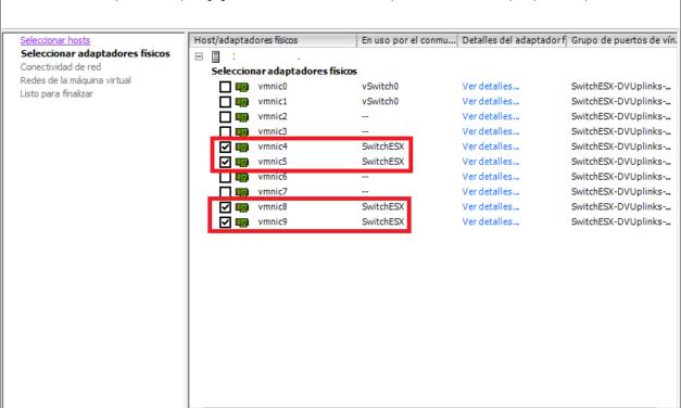 Actualizar VDS conmutadores virtuales distribuidos de VMware de la versión 5.5 a la versión 6.0