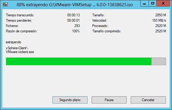 Primeros pasos antes de realizar la actualización de VMware vCenter 5.5 a 6.0