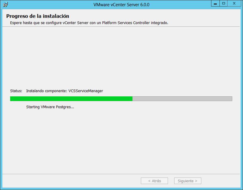 Actualizar VMware vCenter Server de la 5.5 a la 6.0