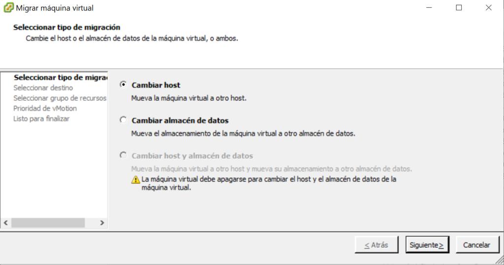 Actualizar VMware vCenter Server si tenemos un clúster