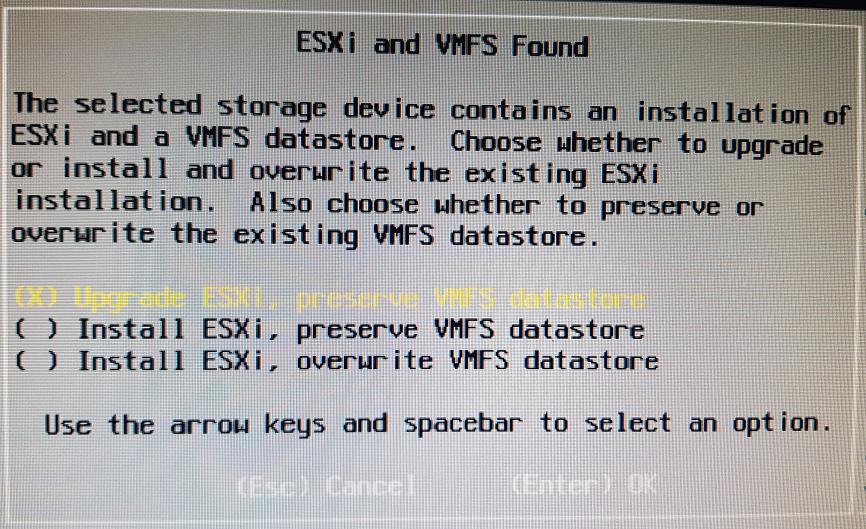 Actualizar hipervisor host ESXi de la 5.5 a la 6.0