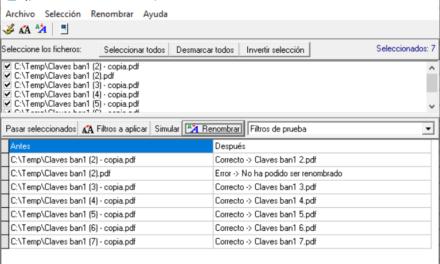 AjpdSoft Renombrar Ficheros Múltiples Código Fuente Delphi