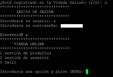 Ejemplo de RMI en Java Tienda Online con persistencia JSON y Programación distribuida cliente servidor