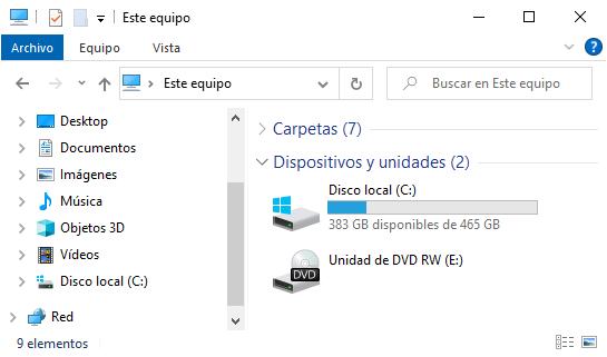 Ocultar un volumen con DiskPart