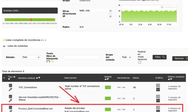 Depurar valores que envía un cliente Pandora FMS al servidor para solucionar módulos erróneos
