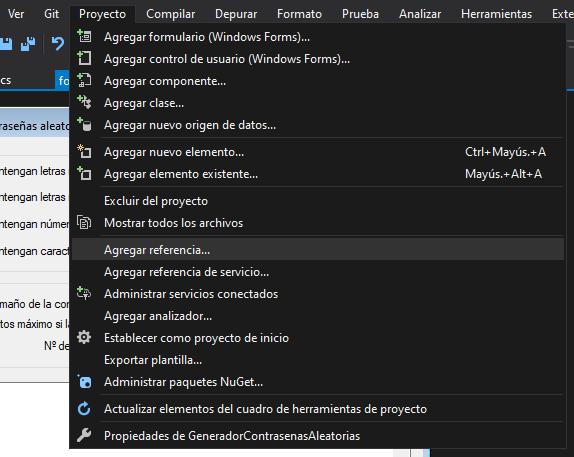 Crear proyecto en Microsoft Visual Studio Community 2019 de Aplicación Windows Forms C#
